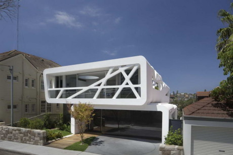 Дом Хьюлетт (Hewlett House) в Австралии от MPR Design Group.