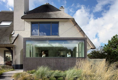 House N 1 460x313 Реконструкция дома в Голландии 4