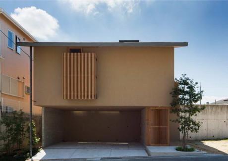 Дом Сакаи (Sakai House) в Япония от Uemachi Laboratory.
