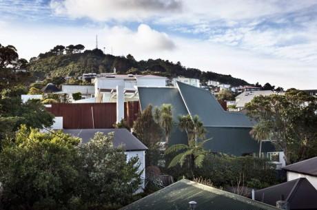 Дом с видом на море в Новой Зеландии