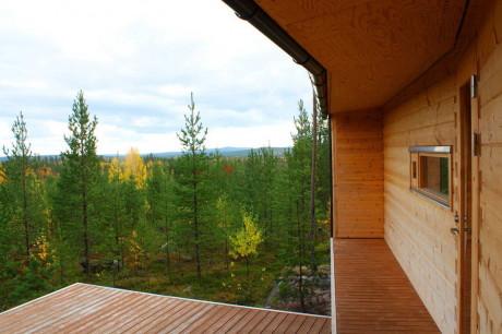 Проект небольшой деревянной дачи
