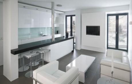 apartment in reykjavik 1 1 460x293 Квартира архитектора в Рейкьявике