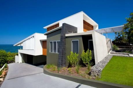 Современный дом на берегу океана в Австралии