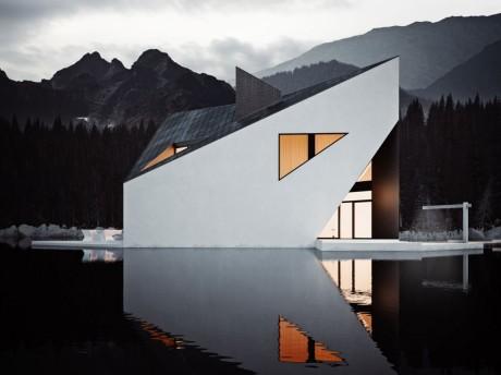 Проект современного дома в Польше