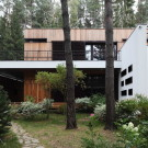 Домик в сосновом лесу (House in a Pine Forest)