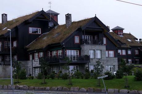 Зелёные крыши Норвегии