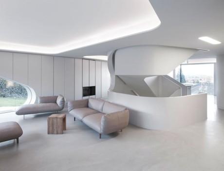 Дом необычной формы в Германии