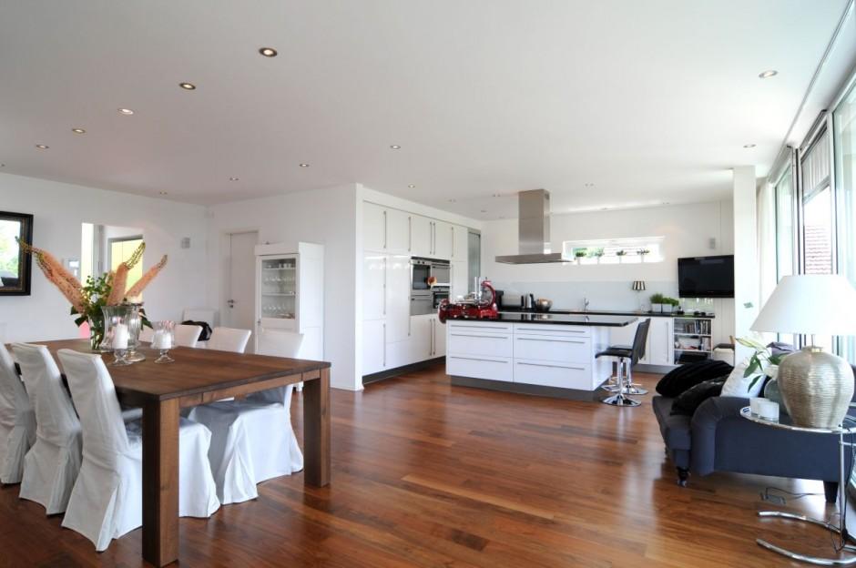 Современный дизайн интерьера домов и коттеджей фото