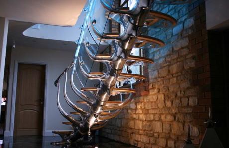 Лестница-скелет в Англии