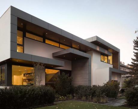 Проект современного дома в Канаде