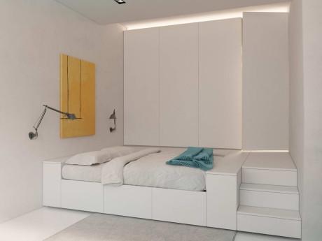 Дизайн-Проект трансформируемой квартиры