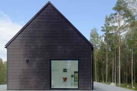 Лесной дом в Швеции 2