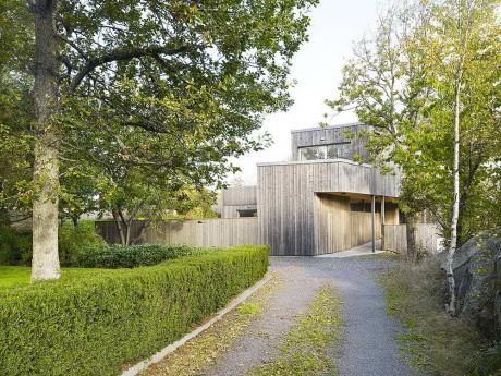 Деревянный дом в Швеции 2
