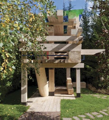 Гран-при. «Детский домик на дереве», архитектурное бюро «АИ студия»