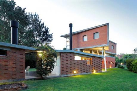 Дом из бетона и кирпича в Аргентине