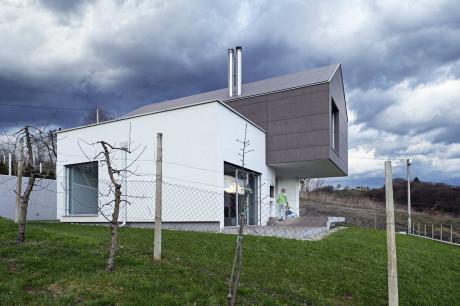 Современный дом с консолью в Хорватии