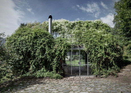 Зелёный домик в Италии