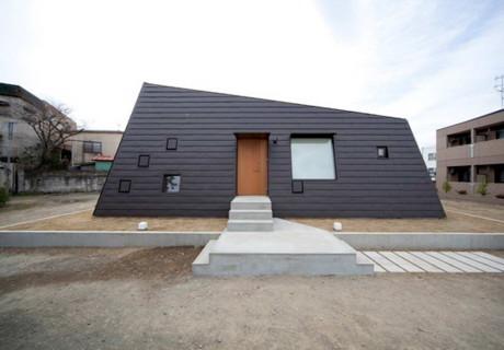 Дом вокруг двора в Японии 2