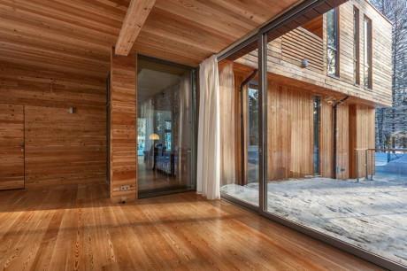 Проект современного деревянного дома в России