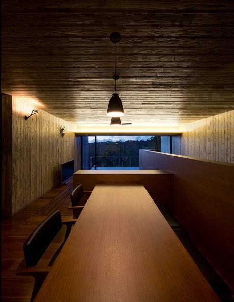 Бетонный дом в стиле минимализм в Японии