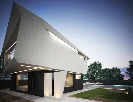 Проект современного дома в Молдавии
