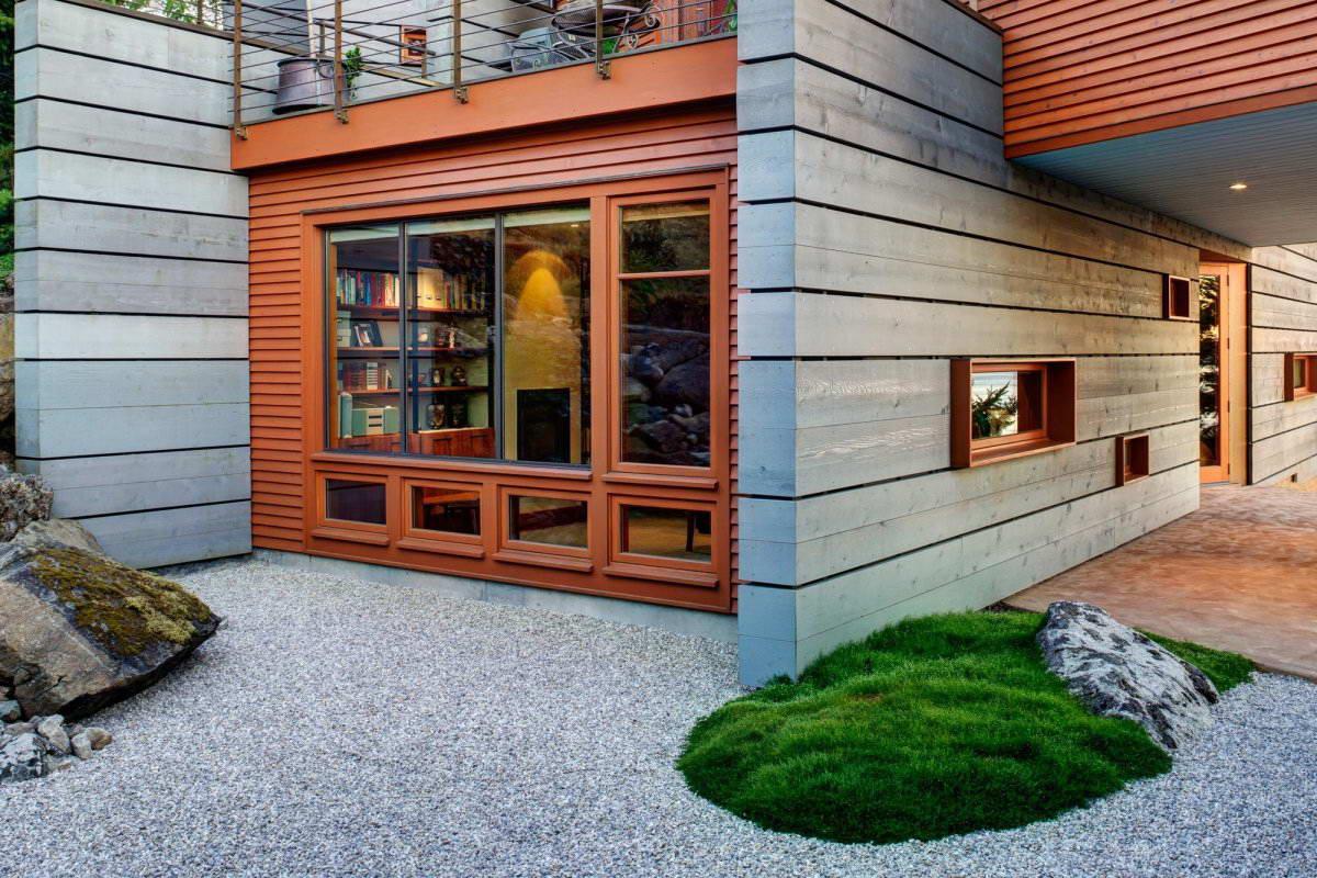 Дизайн сеней в частном доме
