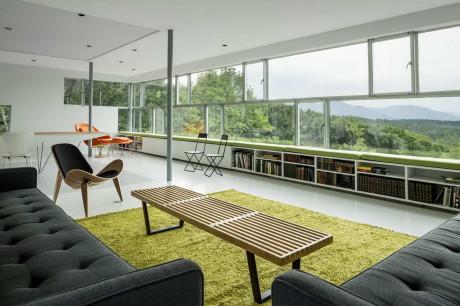 Проект современного дома с консолью