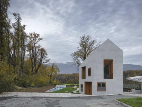 Проект современного дома в Швейцарии