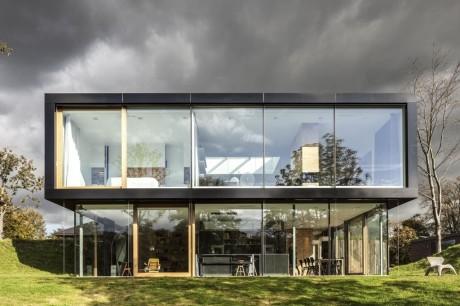 Дом на холме в Голландии