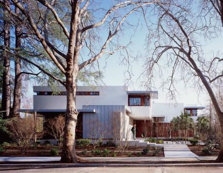 Современный загородный дом в США 21