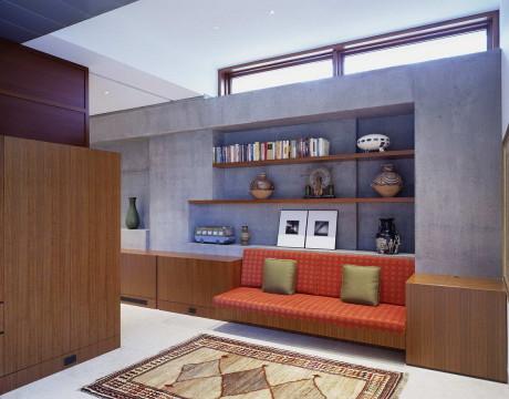 Интерьер современного загородного дома в США 21