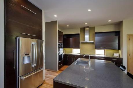 Современный интерьер жилого дома в США