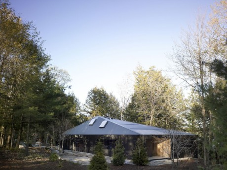 Лесной дом в Канаде 5