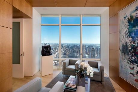 Двухэтажная квартира в Нью-Йорке