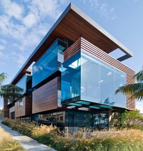 Дом с видом на океан в США