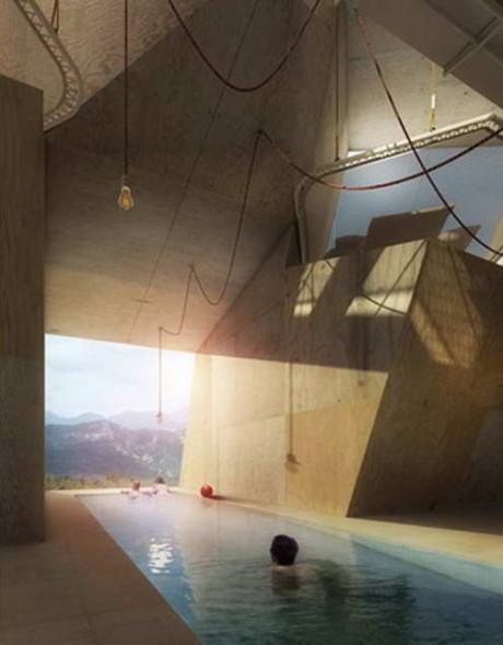 Проект загородного дома будущего в Испании