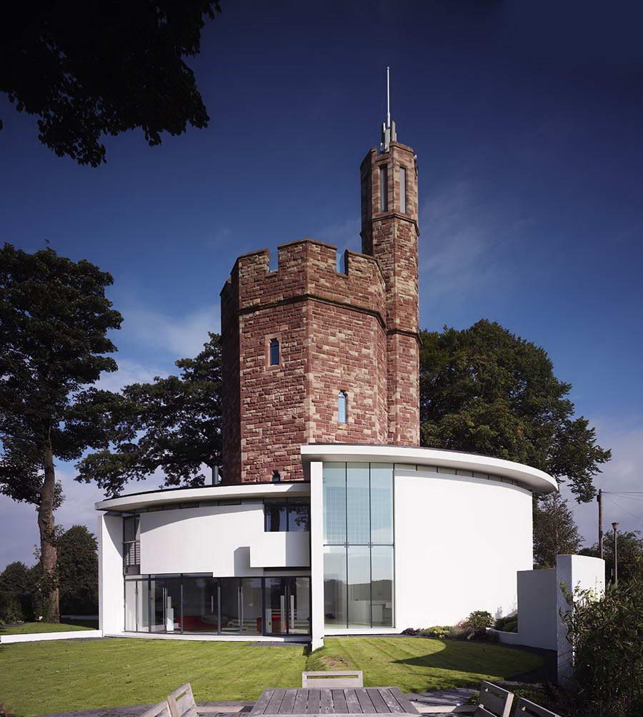 Дом в водонапорной башне англия