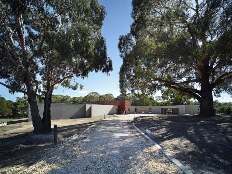 Проект современного дома в Австралии