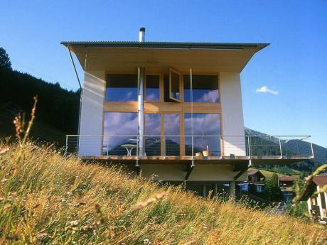 Соломенный дом в Швейцарии