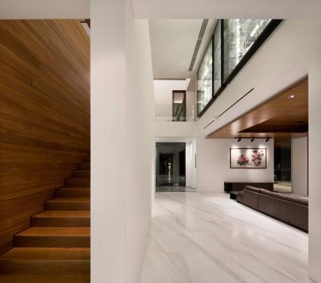 Интерьер современного дома в Сингапуре