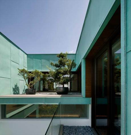 Зелёный дом в Сингапуре