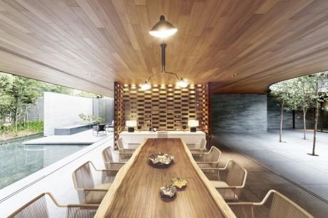 Проект современного дома в Сингапуре