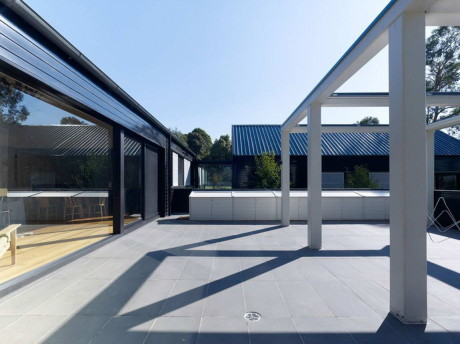 Дом Блэйк Стрит (Blake Street) в Австралии от B.E ARCHITECTURE.
