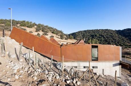 Дом из контейнеров в Чили