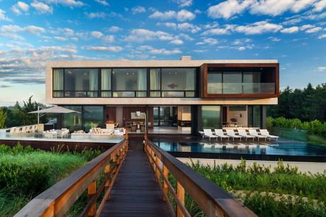 Резиденция Даниэли Лэйна (Daniels Lane Residence) в США от Blaze Makoid Architecture.