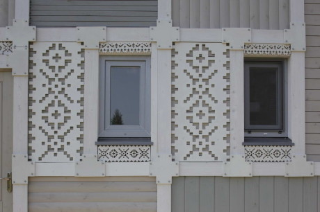 Дом с декоративными шаблонами (Deco Pattern House) в России от Петра Костёлова.