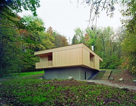 Лесной дом в Швейцарии