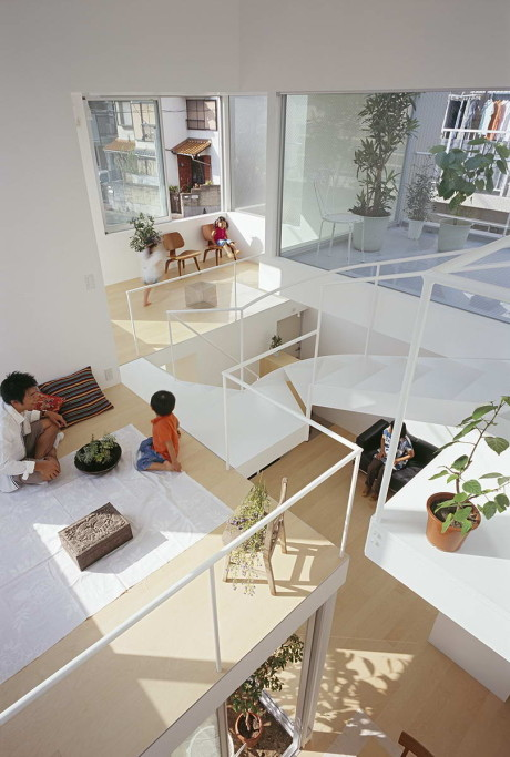 Дом в Чаягасака (House in Chayagasaka) в Японии от Tetsuo Kondo Architects.