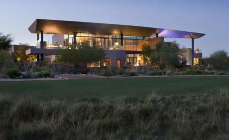 J2 Residence by assemblageSTUDIO 6 460x281 Дом в пустыне в США 5