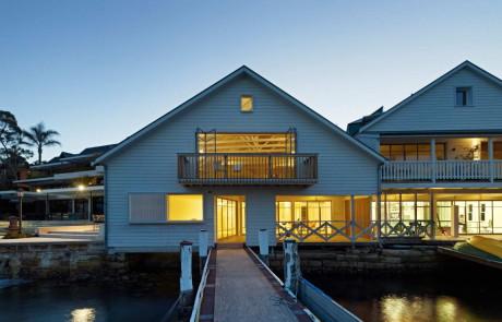 Преобразование портового здания в Австралии